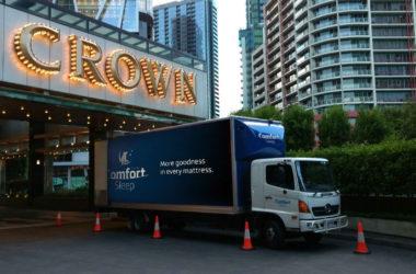 Proud supplier to Crown Hotels, Australia's finest 5 star hotelier.