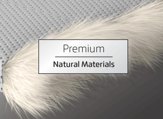 Premium Natural Materials